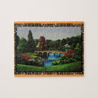 Le puzzle anglais de collection de jardin
