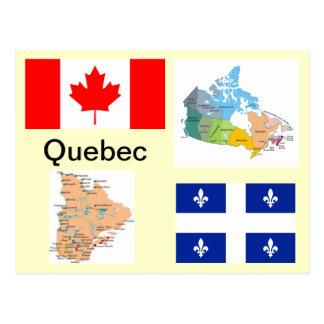 Le Québec Canada Cartes Postales