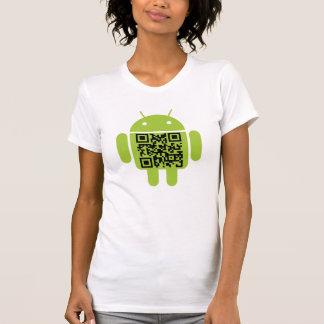 Le réservoir de la fille androïde t-shirts