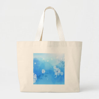 Le résumé fleurit le jardin bleu sacs