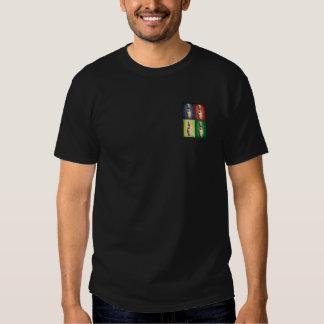 Le rétro Roi goupilles T Shirts