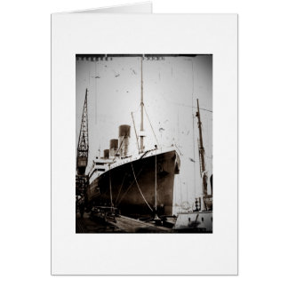 Le RMS Olympic 1929 Carte