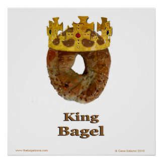 Le Roi Bagel Poster