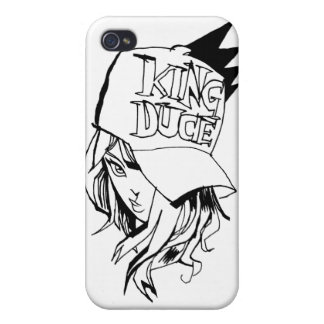 Le Roi Duce Girl Coques iPhone 4/4S