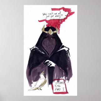 Le Roi Emo de magicien I Poster