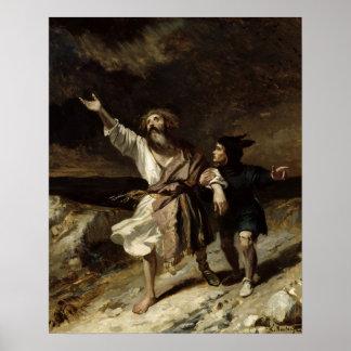 Le Roi Lear et l'imbécile dans la tempête Poster