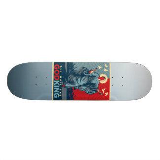 Le Roi Skate Board Deck de Dieu d'Obama Plateaux De Skate
