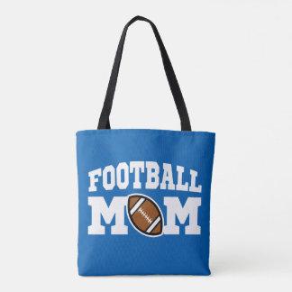 Le sac du football des femmes fières de maman