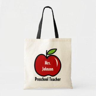 Le sac fourre-tout préscolaire   à professeur pers
