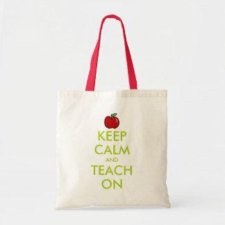 Le sac fourre-tout rouge   à professeur de pomme