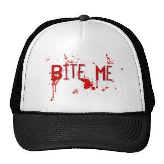 """Le sang vrai """"me mordent """" casquette de camionneur"""