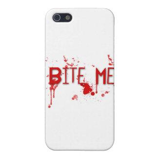 """Le sang vrai """"me mordent """" étui iPhone 5"""