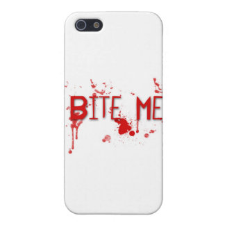 """Le sang vrai """"me mordent """" étuis iPhone 5"""