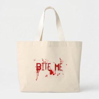 """Le sang vrai """"me mordent """" sac en toile"""