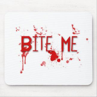 """Le sang vrai """"me mordent """" tapis de souris"""