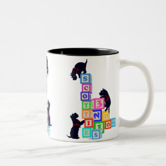Le Scottie bloque la tasse