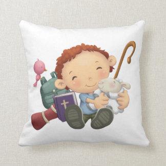 Le Seigneur est mon berger Throw Pillow