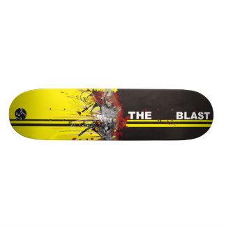 Le souffle plateau de skateboard