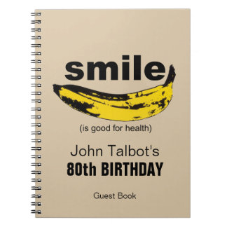 Le sourire est bon pour le quatre-vingtième livre carnets