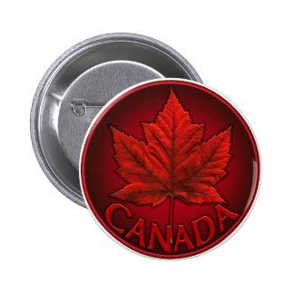 Le souvenir du Canada boutonne le Pin de feuille Badges Avec Agrafe