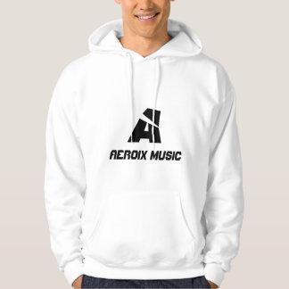 Le sweat - shirt à capuche des hommes de musique