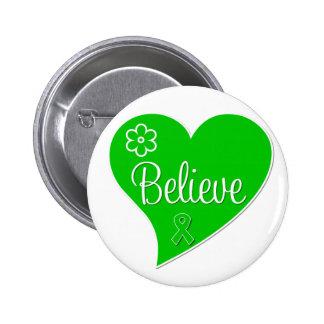 Le syndrome de Tourette croient le coeur Badge Avec Épingle