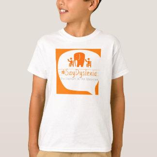 Le T-shirt à manches courtes de l'enfant