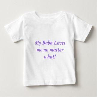Le T-shirt de bébé, baba m'aime !
