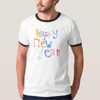 Le T-shirt de nouvelle année de T-shirts de bonne