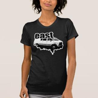 le T-shirt des femmes de conception d horizon d ea