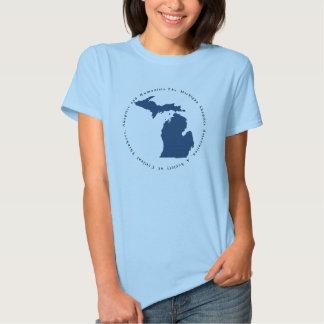 Le T-shirt des femmes de MISkeptics
