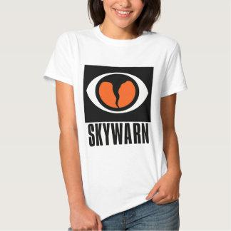 Le T-shirt des femmes de SKYWARN