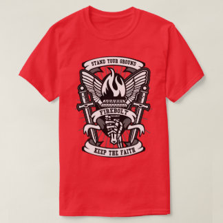 Le T-shirt des hommes de torche