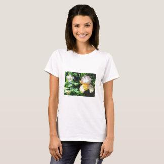 Le T-shirt d'iris jaune