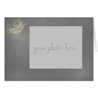 Le tableau a inspiré stationnaire carte de vœux
