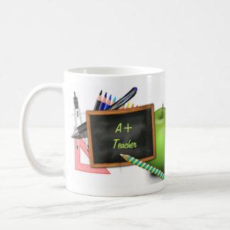 Le tableau du professeur personnalisé mug blanc