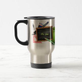 Le tableau du professeur personnalisé mug de voyage en acier inoxydable