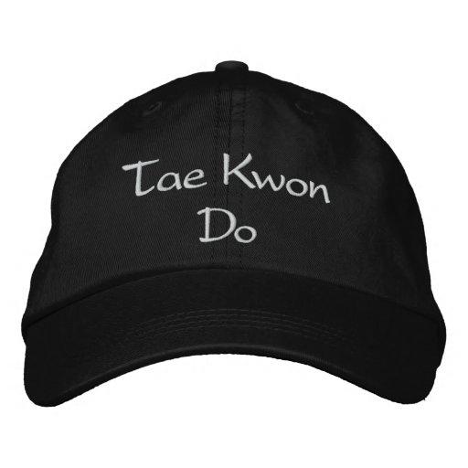 Le Taekwondo - casquette de baseball
