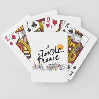 Le Tangle de France (Le Tour de France) Poker Deck