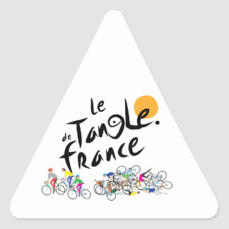 Le Tangle de France (Le Tour de France) Sticker