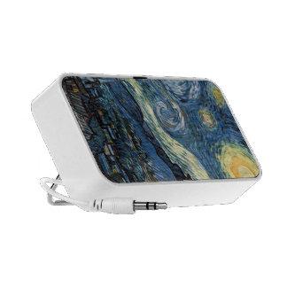Le téléphone de nuit étoilée de Van Gogh enferme e Haut-parleur Pour iPhone