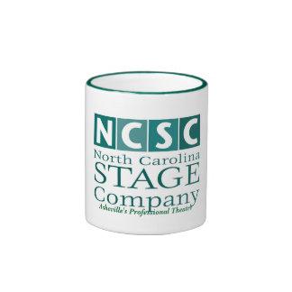 Le théâtre professionnel d'Asheville de logo de NC Mug Ringer