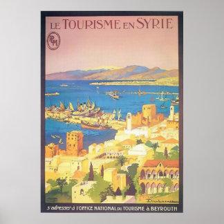 Le Tourisme en Syrie Poster