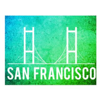 Le tourisme vintage de voyage de San Francisco Carte Postale