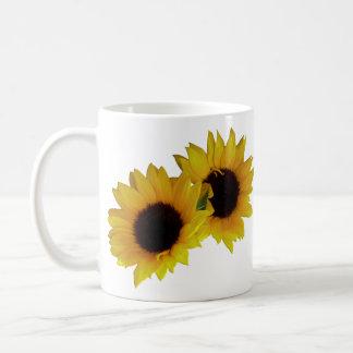 Le tournesol met en forme de tasse les tasses