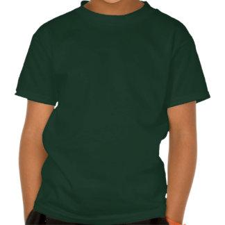 """Le train vert de fou de vapeur """"votre nom"""" badine tshirts"""