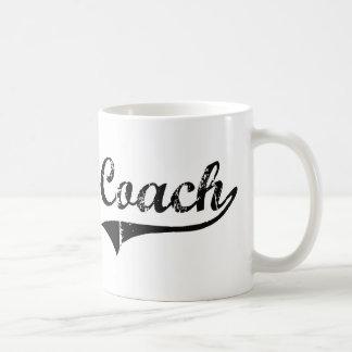 Le travail de professionnel d entraîneur mug à café