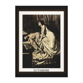 Le Vampire by Burne-Jones Canvas Print