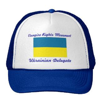 le vampire redresse le mouvement - délégué ukraini casquettes