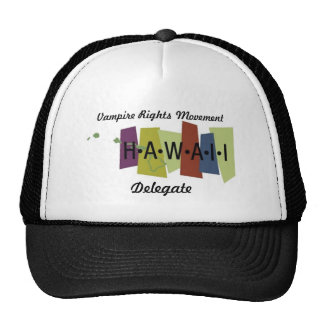 Le vampire redresse le mouvement - Hawaï Casquette De Camionneur